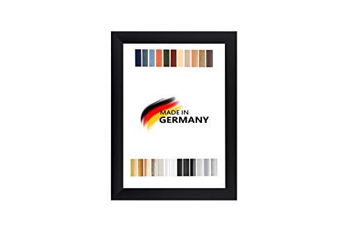 ByMoris A+ 60x120 cm Bilderrahmen in Farbe Schwarz Matt mit Antireflex-Acrylglas