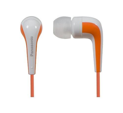 Panasonic RP-HJE140 Wired Earphones (Orange)