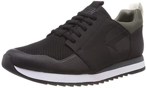 f5165143e4a G-STAR RAW Men's Deline Ii Low-Top Sneakers, (Black 990)