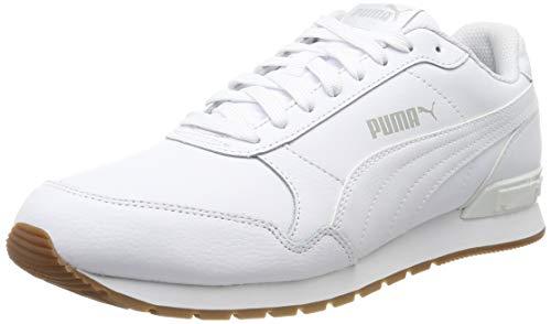 Puma Unisex-Erwachsene ST Runner v2 Full L Sneaker, White-Gray Violet 09, 4.5 EU