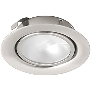 Leyton lighting 12v 20w halogen recessed downlight stainless steel leyton lighting 12v 20w halogen recessed downlight stainless steel warm white driver required aloadofball Images