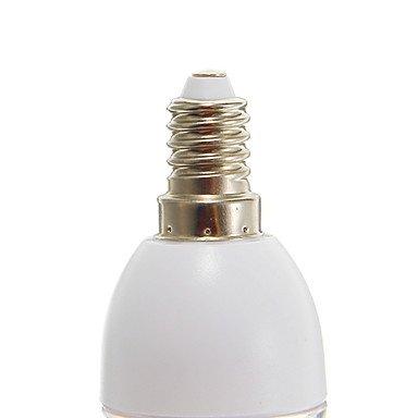 FDH 3W E14 Luces de velas LED 10 SMD 3528 140-160 lm Cool White 220-240 V CA
