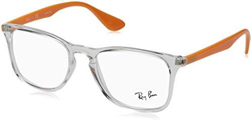 Ray-Ban Unisex-Erwachsene Brillengestell 0rx 7074 5736 50, (Transparente)