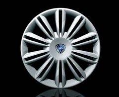 Copriruota Copricerchio Coppa ruota Lancia musa Logo blu 15' Copricerchi singolo