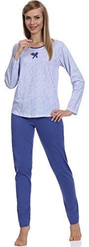 Merry Style Pyjama Femme 1192 Bleu-1A