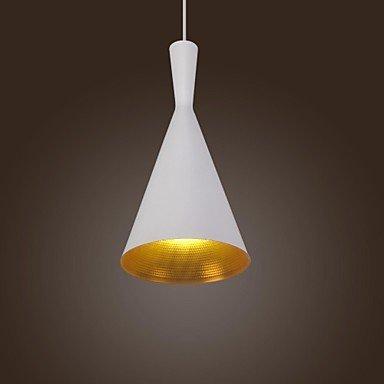 lampada a sospensione design retrò Tom Dixon di tipo vintage bianco c , 220-240V-YU&XIN