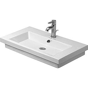 Lavabos de Duravit 2nd Floor de ancho de 70 cm de mano 1 Aliviadero, de colour blanco 491700027, 491700027