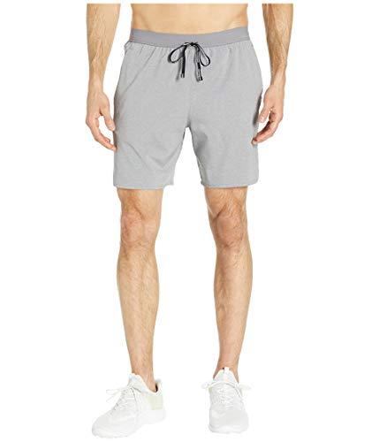 Nike Herren M NK FLX Stride 7IN 2IN1 Shorts, Gunsmoke/Htr/Metallic Silver, S