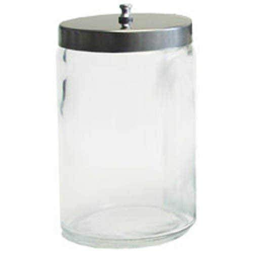 grafco UNLABELED Sundry Jar, One Glas w/Cover, 1/EA, ghf3458ea - Glas Canning Jar