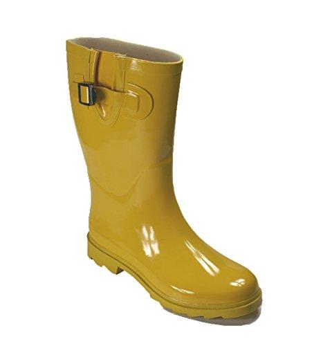 Own Shoe Womens Multiple Styles Rain Snow Winter Flat Rubber Mid Calf Short Rainboot