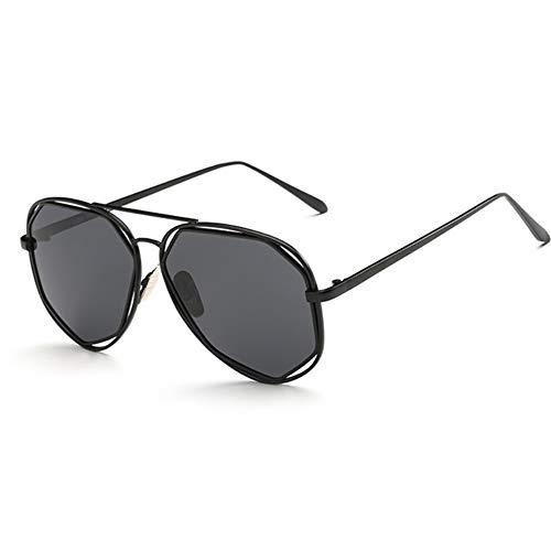 Damen Unisex Sonnenbrille Polygonal Resin Rimmed Lens Lens UV400 Schutz Fashion Travel Eyeglasses