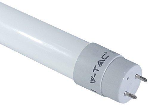 V-TAC SMD LED Tubo T8 G13 150cm blanco luz de da 4500K 22Watt 270 cubierta 1850 Lumen materiales de plstico mate - Para sustituir tubos fluorescentes tradicionales de 120cm 54Watt