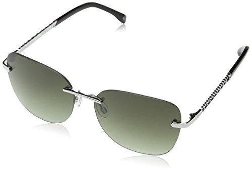 Karen Millen Sunglasses Sonnenbrille KM7006, Silber (Silver), 58