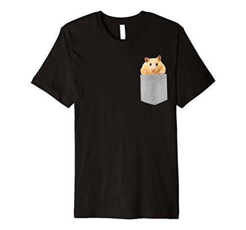 Animal in der Tasche Pet Hamster Premium Shirt (Hamster T-shirt)