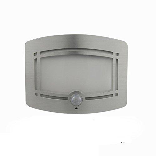 Tofern Moderne Activé Par Le Mouvement Capteur 4000K Aluminium 3M Autocollant Balcon Toilettes Chambre LED Applique Murale