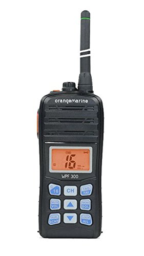 ORANGEMARINE WPF 300 Portable Waterproof Floating Handheld VHF Radio - Floating-radio