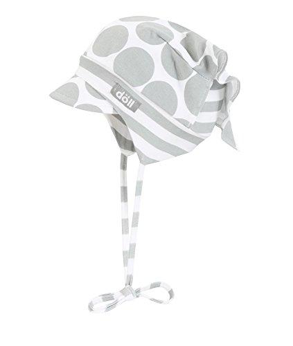 Döll Baby-Mädchen Mütze Kopftuch mit Schirm Jersey, Grau (Quarry 1270), 43