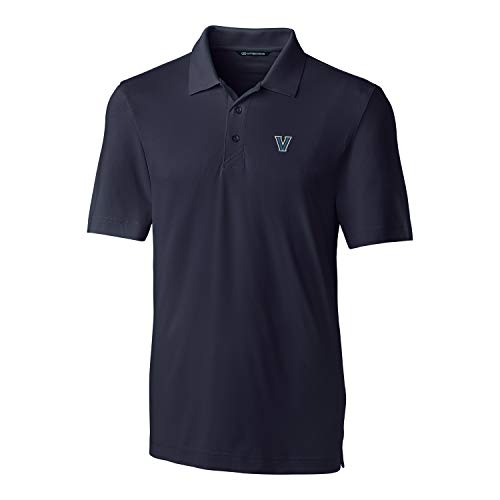Cutter & Buck NCAA Boston College Eagles Mens Short Sleeve Forge Poloshort Sleeve Forge Polo, Black, X-Large, Black, XL