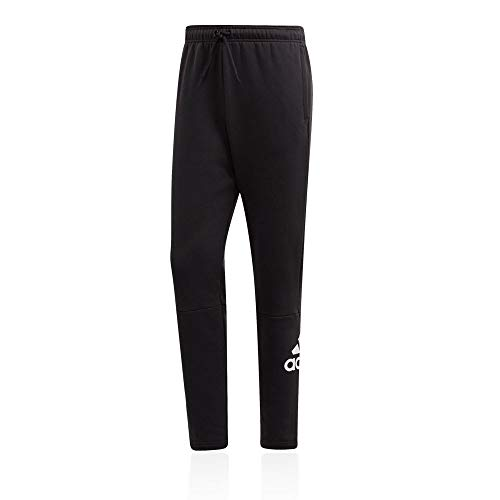 adidas Herren MH BOS FL Pants, Black/White, M Preisvergleich