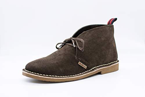 Ben Sherman Herren Hunt Desert Boots, Brown (Chocolate Suede 141), 42 EU