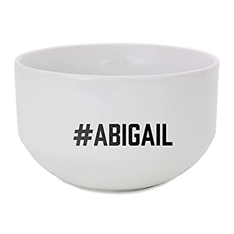 Ceramic bowl with #ABIGAIL