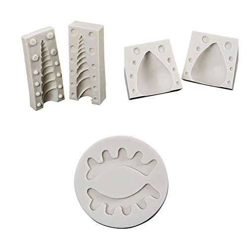Demarkt Molde de Silicona Unicornio Estéreo 3D Non Stick lavavajillas de Microondas Seguro Bandejas Para Hornear Magdalenas 5PCS