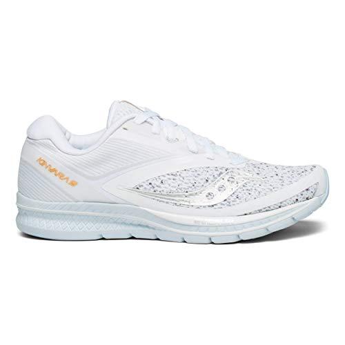 Saucony Women Kinvara 9 Neutral Running Shoe Running Shoes White - Silver 4