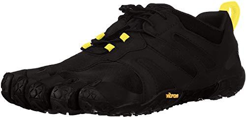 Vibram FiveFingers 19M7601 V-Trail 2.0, Traillaufschuhe Herren, Schwarz (Black/Yellow), 44 EU