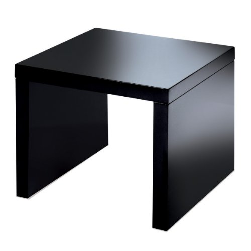 SIDE TABLE IN BLACK HIGH GLOSS