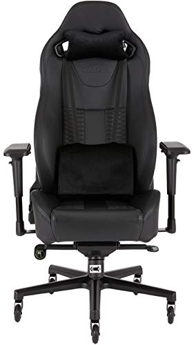 T2 Road Warrior - Fauteuil Gaming de Bureau en Similicuir, Montage Facile, Ergonomique, Hauteur Réglable et Accoudoirs 4d,  Siège Large et Confortable...
