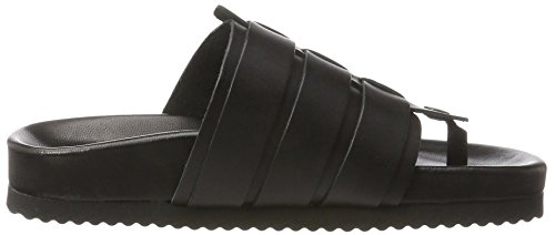 SELECTED FEMME Damen Sfadorda Slider Zehentrenner Schwarz (Black)