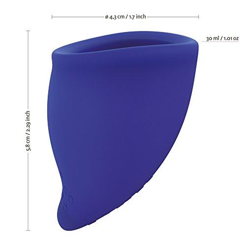 FUN FACTORY FUN CUP EXPLORE KIT - Zwei Menstruationstassen für starke und schwache Blutung inkl. Tasche - 3