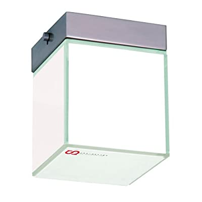 s`luce Dice Deckenleuchte Würfel, 10x10cm, weiß DICE/1C/WH von Licht-Design Skapetze GmbH & Co KG bei Lampenhans.de