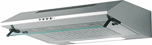 Best - Cappa Sottopensile Pavia LUX XS 80 in Acciaio Inox da 80cm