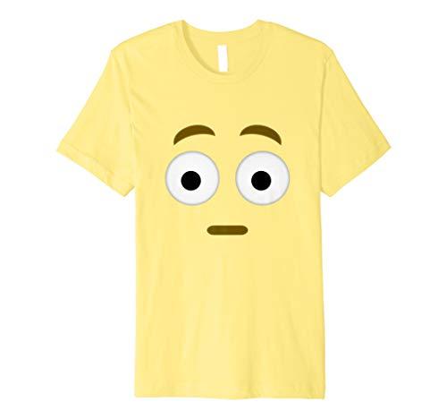 Halloween überrascht Emoji-Shirt Kostüm