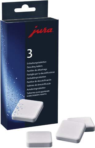 jura Entkalker, Tabletten, für 3 Reinigungen (9 Stück), Sie erhalten 1 Packung á 9 Stück