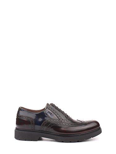 Nero Giardini , Chaussures de ville à lacets pour homme violet bordeaux Bordo'