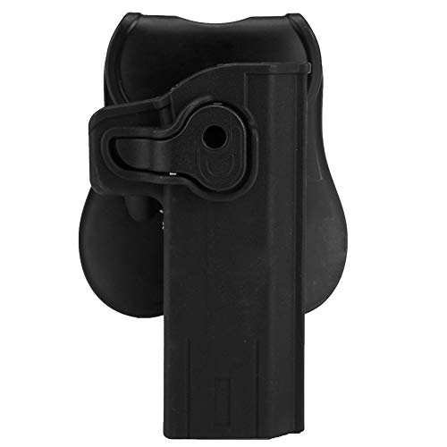 OAREA Links/Rechtshänder Benutzer Airsoft Glock Jagd Pistolenhalfter Abnehmbarer Militärischer Taktischer Gürtel Pistolenhalfter Film (Airsoft Gun Holster)