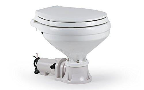 Bootstoilette elektrisch mit Zerhacker Bordtoilette Toilette Boot WC -