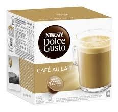 Order Nescafé Dolce Gusto Café au lait, Pack of 6, 6 x 16 Capsules by Nestlé