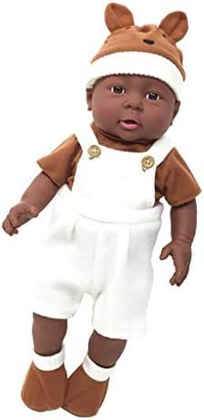 Backbayia 41cm Poupée Afro-américaine Nouveau-né Bébé en Vinyle     Cadeau B07KY15S75 4b8a3d