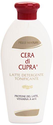 Pelli Mature - Latte Detergente Tonificante, Cera di Cupra, Proteine del Latte Vitamina A ed E - 200 ml