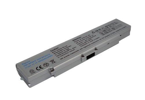 11,10V 4400mAh Li-Ion Batterie de remplacement pour Sony VAIO VGN-CR190E/P, VAIO VGN-CR190E/R, VAIO VGN-CR190E/W, VAIO VGN-CR19VN/B, VAIO VGN-CR19XN/B, VAIO VGN-CR20, VAIO VGN-CR21/B, VAIO VGN-CR21E/L, VAIO VGN-CR21E/P, VAIO VGN-CR21E/W, VAIO VGN-CR21S/L, VAIO VGN-CR21S/P, VAIO VGN-CR21S/W, VAIO VGN-CR21Z/N, VAIO VGN-CR21Z/R, VAIO VGN-CR220E/R, VAIO VGN-CR23/B, VAIO VGN-CR23/L