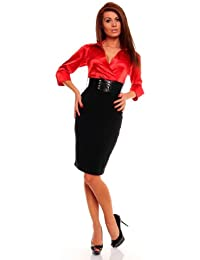 celebrity style red black shirt dress with belt mini evening cocktail club party gradation office church outfit posh slim bandage collar long sleeve dress pencil wedding outfit wear sizes