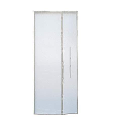 Finebuying Türabdichtung für Mobile Klimageräte, Klimaanlagen, Wäschetrockner und Ablufttrockner, Air Lock zum Anbringen an Tür Fenster Abdichtung Klimaanlage 90 x 210cm (Weiß)
