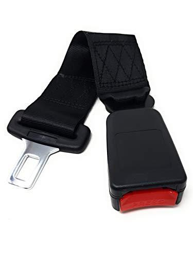 Auto Ceintures s/écurit/é Installation facile 36,2 cm Convient aux personnes /âg/ées enceintes prolongateur de ceinture de s/écurit/é pour voiture noir