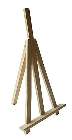 Chevalet en bois - 25 cm - qualité supérieure -