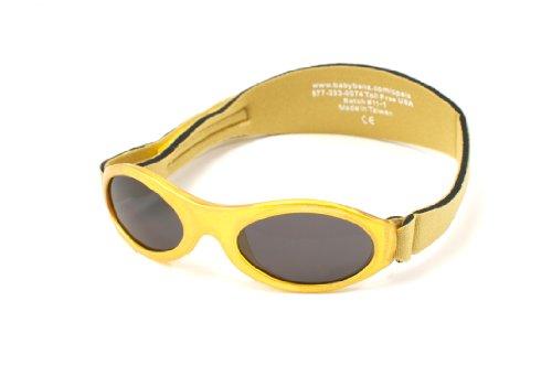KidzBanz Unisex - Baby Sonnenbrille ABBLV-Lavender Tulip, Gr. one size (0-2 Jahre), Gold (Gold Metalic)
