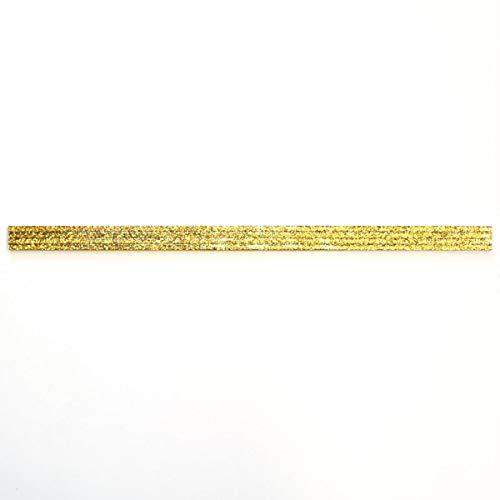 Borde - Cenefa de aluminio dorado 4 unidades
