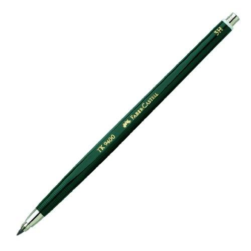Faber-Castell 139413 - Fallminenstift TK 9400, Minenstärke: 2 mm, Härtegrad: 3H, Schaftfarbe:...